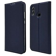 Handytasche Stand Schutzhülle Leder Hülle L07 für Huawei P Smart (2019) Blau