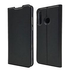 Handytasche Stand Schutzhülle Leder Hülle L07 für Huawei P30 Lite Schwarz