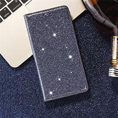 Handytasche Stand Schutzhülle Leder Hülle L07 für Samsung Galaxy S20 5G Blau