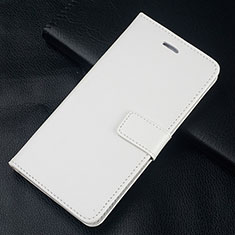 Handytasche Stand Schutzhülle Leder Hülle L08 für Huawei Honor 10 Lite Weiß