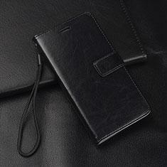 Handytasche Stand Schutzhülle Leder Hülle L08 für Huawei Mate 20 Lite Schwarz