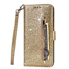 Handytasche Stand Schutzhülle Leder Hülle L08 für Samsung Galaxy S20 Ultra 5G Gold
