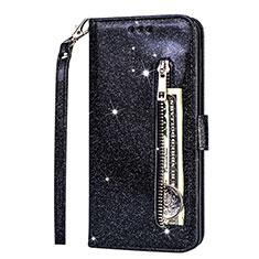 Handytasche Stand Schutzhülle Leder Hülle L08 für Samsung Galaxy S20 Ultra 5G Schwarz