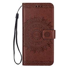 Handytasche Stand Schutzhülle Leder Hülle L09 für Samsung Galaxy S20 Ultra 5G Braun