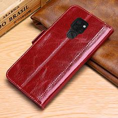 Handytasche Stand Schutzhülle Leder Hülle L10 für Huawei Mate 20 Rot