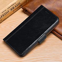 Handytasche Stand Schutzhülle Leder Hülle P01 für Huawei P30 Lite Schwarz