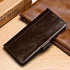 Handytasche Stand Schutzhülle Leder Hülle P01 für Samsung Galaxy S10e Braun