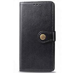Handytasche Stand Schutzhülle Leder Hülle T01 für Samsung Galaxy S20 5G Schwarz