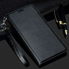 Handytasche Stand Schutzhülle Leder Hülle T02 für Samsung Galaxy S20 5G Schwarz