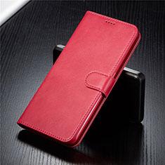 Handytasche Stand Schutzhülle Leder Hülle T03 für Samsung Galaxy A80 Rot