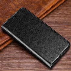 Handytasche Stand Schutzhülle Leder Hülle T04 für Samsung Galaxy S20 Ultra 5G Schwarz