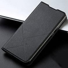 Handytasche Stand Schutzhülle Leder Hülle T05 für Huawei Honor 20 Lite Schwarz