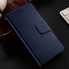 Handytasche Stand Schutzhülle Leder Hülle T12 für Huawei Honor 20 Lite Blau