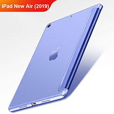 Handytasche Stand Schutzhülle Leder L01 für Apple iPad Air 3 Blau