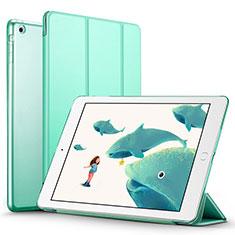 Handytasche Stand Schutzhülle Leder L01 für Apple iPad Air Grün