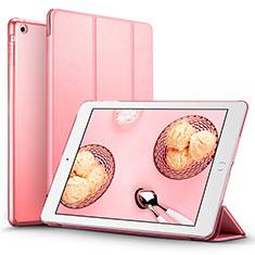 Handytasche Stand Schutzhülle Leder L01 für Apple iPad Air Rosa
