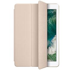 Handytasche Stand Schutzhülle Leder L01 für Apple New iPad 9.7 (2018) Gold