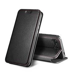 Handytasche Stand Schutzhülle Leder L01 für Huawei Honor 10 Schwarz