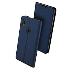 Handytasche Stand Schutzhülle Leder L01 für Huawei P Smart (2019) Blau
