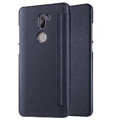 Handytasche Stand Schutzhülle Leder L01 für Xiaomi Mi 5S Plus Schwarz