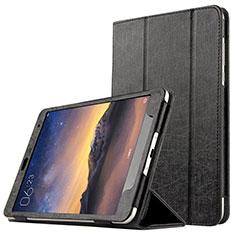 Handytasche Stand Schutzhülle Leder L01 für Xiaomi Mi Pad 3 Schwarz