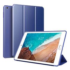 Handytasche Stand Schutzhülle Leder L01 für Xiaomi Mi Pad 4 Blau