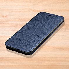 Handytasche Stand Schutzhülle Leder L01 für Xiaomi Redmi Note 7 Pro Blau