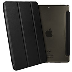 Handytasche Stand Schutzhülle Leder L02 für Apple iPad Pro 10.5 Schwarz