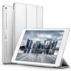 Handytasche Stand Schutzhülle Leder L02 für Apple iPad Pro 10.5 Weiß
