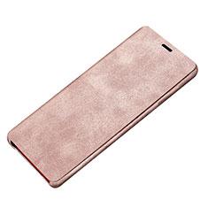 Handytasche Stand Schutzhülle Leder L02 für Samsung Galaxy Note 8 Rosa