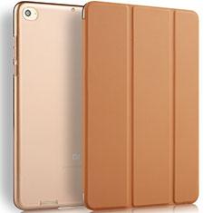 Handytasche Stand Schutzhülle Leder L02 für Xiaomi Mi Pad 3 Braun