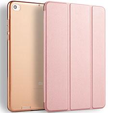 Handytasche Stand Schutzhülle Leder L02 für Xiaomi Mi Pad 3 Rosegold