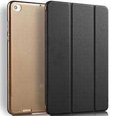 Handytasche Stand Schutzhülle Leder L02 für Xiaomi Mi Pad 3 Schwarz
