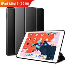 Handytasche Stand Schutzhülle Leder L03 für Apple iPad Mini 5 (2019) Schwarz
