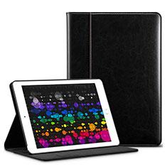 Handytasche Stand Schutzhülle Leder L03 für Apple iPad Pro 10.5 Schwarz