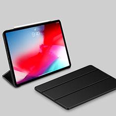 Handytasche Stand Schutzhülle Leder L03 für Apple iPad Pro 11 (2018) Schwarz