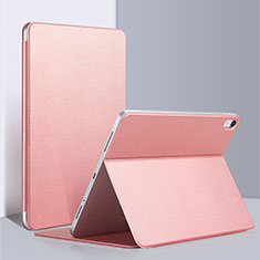 Handytasche Stand Schutzhülle Leder L03 für Apple iPad Pro 12.9 (2018) Rosa