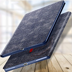 Handytasche Stand Schutzhülle Leder L03 für Apple New iPad 9.7 (2017) Blau