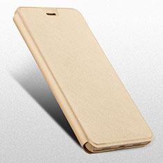 Handytasche Stand Schutzhülle Leder L03 für Huawei Honor 6X Gold