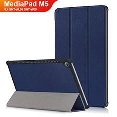 Handytasche Stand Schutzhülle Leder L03 für Huawei MediaPad M5 8.4 SHT-AL09 SHT-W09 Blau