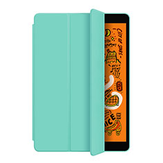 Handytasche Stand Schutzhülle Leder L04 für Apple iPad Mini 5 (2019) Cyan