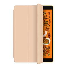 Handytasche Stand Schutzhülle Leder L04 für Apple iPad Mini 5 (2019) Gold