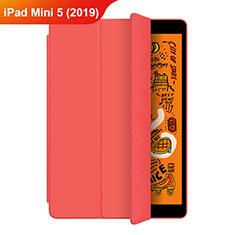 Handytasche Stand Schutzhülle Leder L04 für Apple iPad Mini 5 (2019) Rot