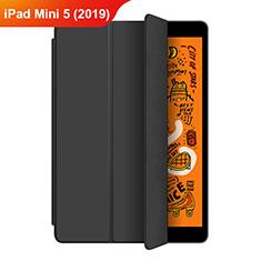Handytasche Stand Schutzhülle Leder L04 für Apple iPad Mini 5 (2019) Schwarz