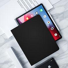 Handytasche Stand Schutzhülle Leder L04 für Apple iPad Pro 12.9 (2018) Schwarz