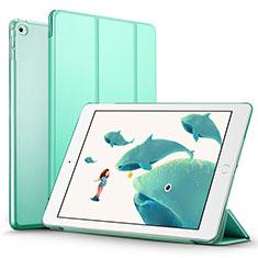 Handytasche Stand Schutzhülle Leder L05 für Apple iPad Mini 4 Grün