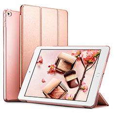 Handytasche Stand Schutzhülle Leder L05 für Apple iPad Mini 4 Rosegold