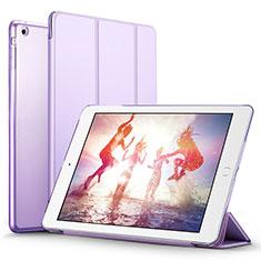Handytasche Stand Schutzhülle Leder L06 für Apple iPad Mini 3 Violett