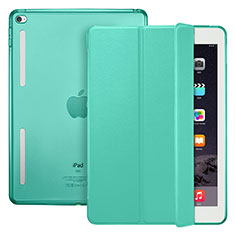 Handytasche Stand Schutzhülle Leder L06 für Apple iPad Mini 4 Grün