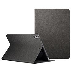 Handytasche Stand Schutzhülle Leder L06 für Apple iPad Pro 10.5 Schwarz